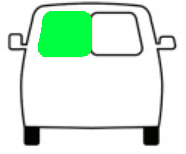 klapdeur raam links
